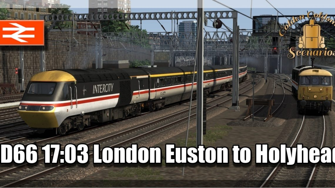 G.G.S. 1D66 1703 London Euston to Holyhead