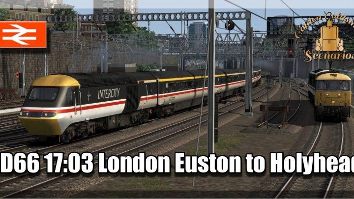 G.G.S. 1D66 1703 London Euston to Holyhead