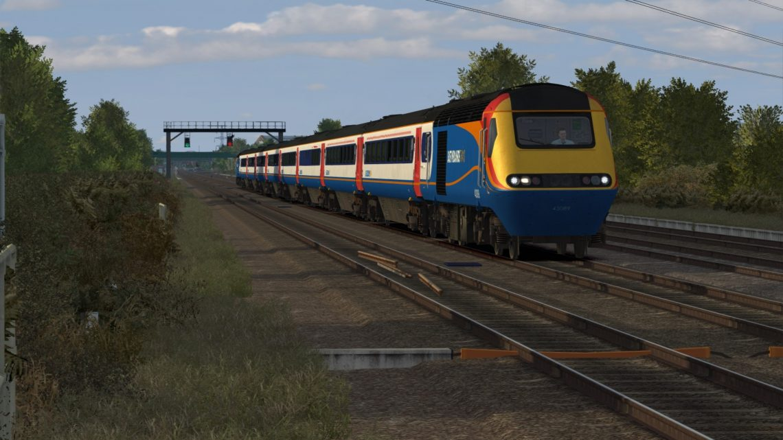 [JWT] 1B63 16.45 Nottingham to London St.Pancras (2 parts)