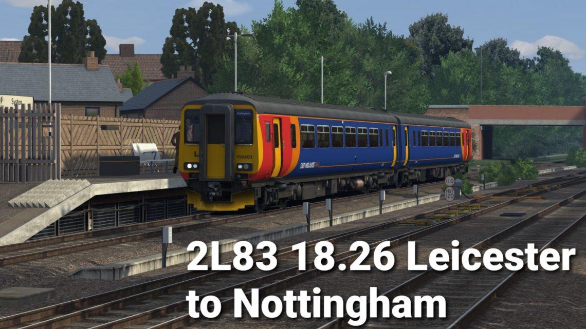 [JWT] 2L83 18.26 Leicester to Nottingham EMT