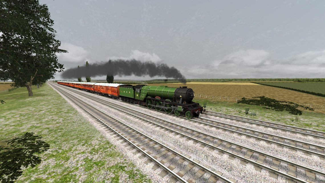 A3 Pacific 'Flying Scotsman' with LNER Teak Coaches 1930 QuickDrive Preload
