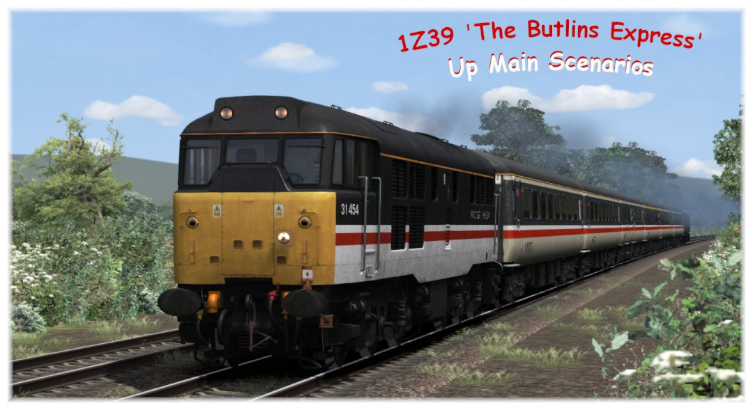 1Z39 'The Butlins Express'