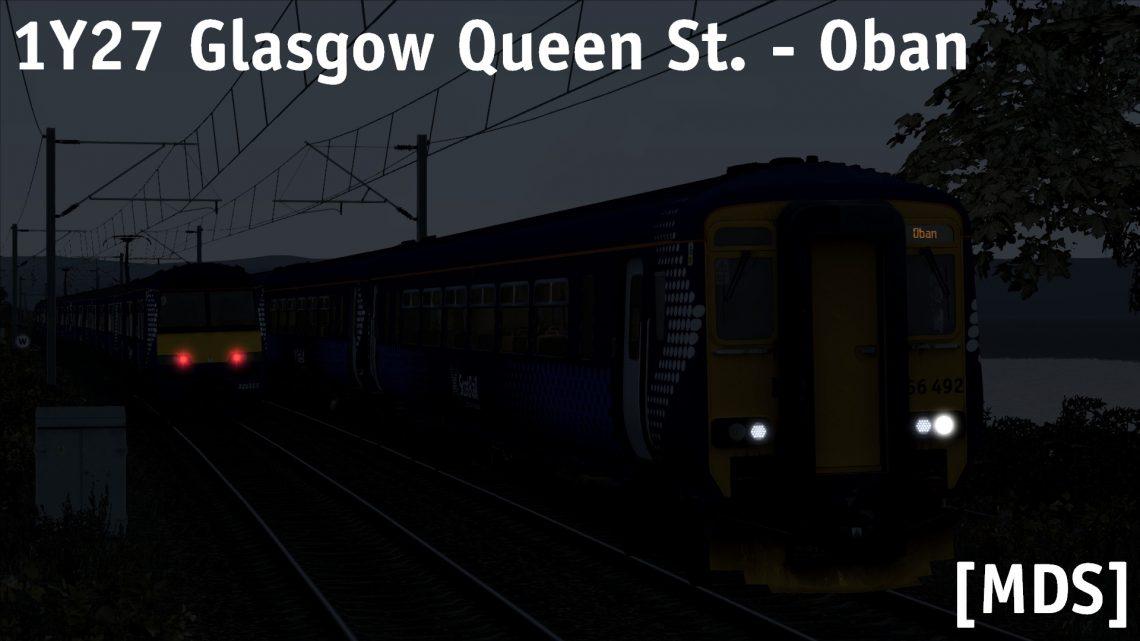 [MDS] 1Y27 18:23 Glasgow Queen St. – Oban