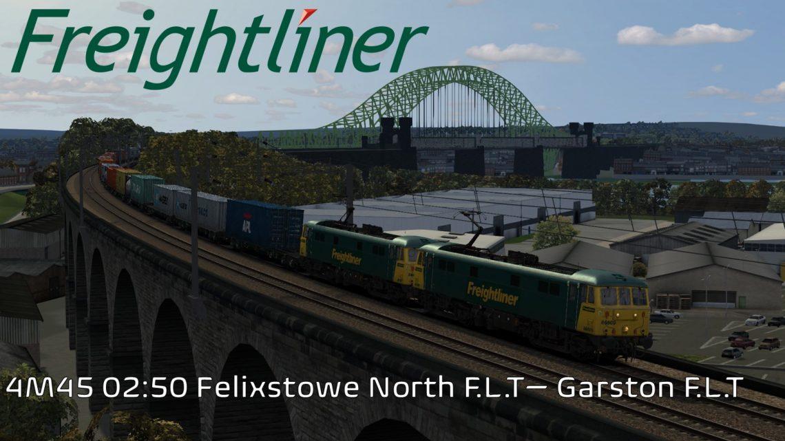 4M45 02:50 Felixstowe North F.L.T – Garston F.L.T