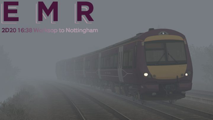 2D20 16:34 Worksop to Nottingham