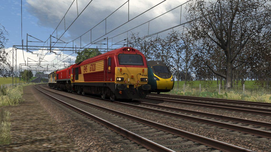 0A06 1335 Crewe T.M.D. (E) to Db Cargo Fan A And B Sdgs