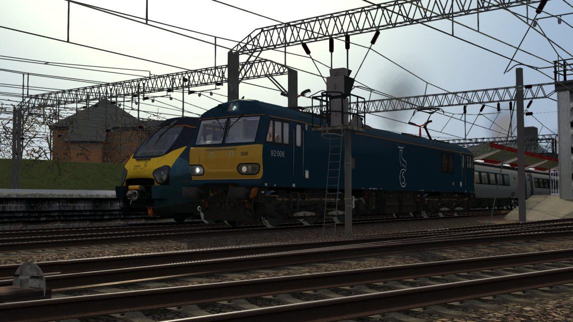 0Z92 0905 Crewe T.M.D. (E) to Preston