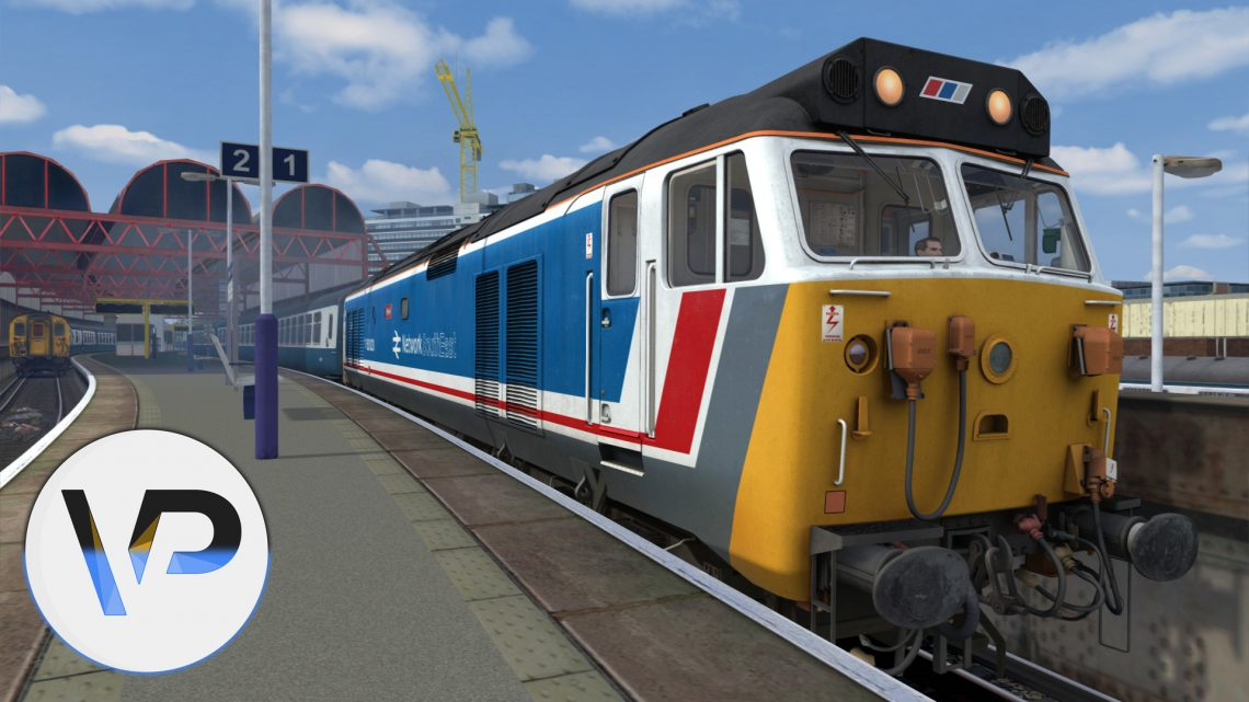 [VP102] 1M07 1302 Portsmouth Harbour – Manchester Piccadilly