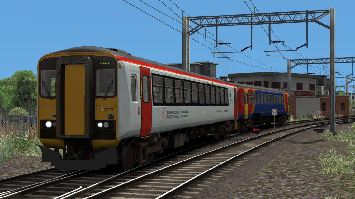 TFW Class 153 Run – Crewe – Chester