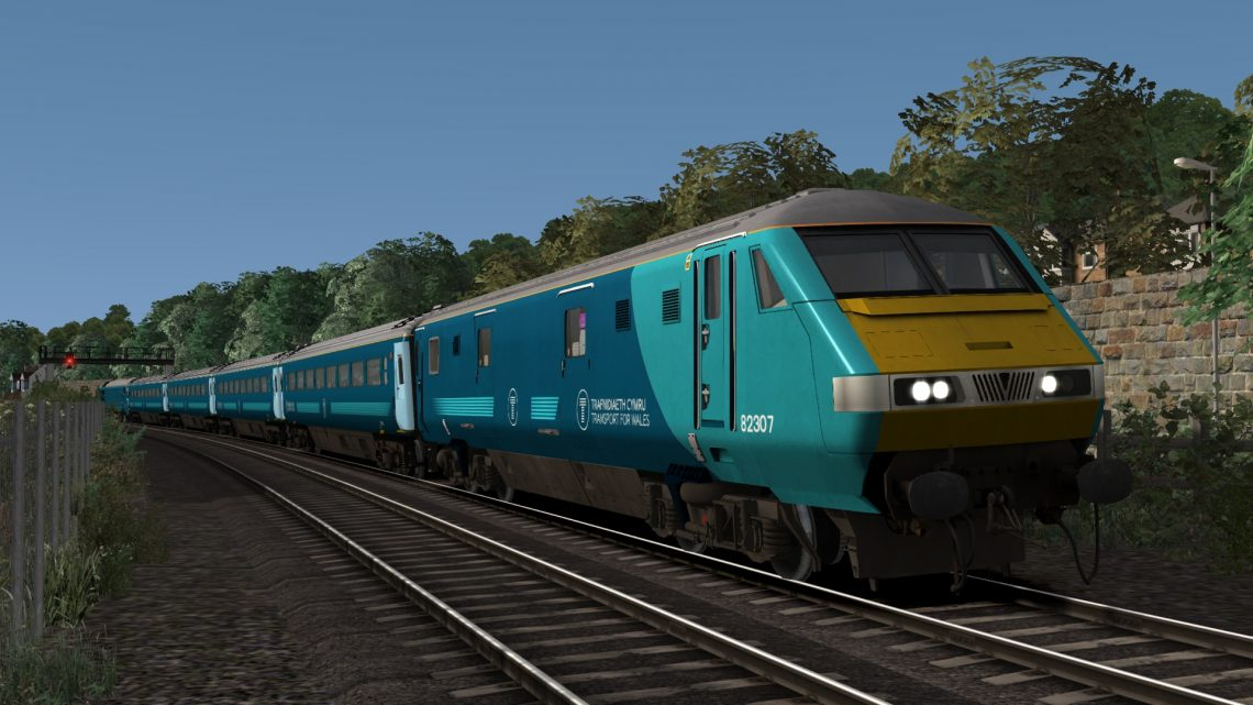 TFW DVT MK3 Wag Run – Llandudno – Crewe