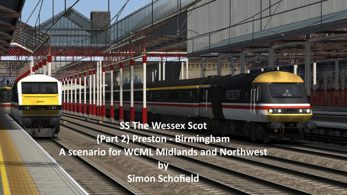 SS The Wessex Scot (Part 2) Preston – Birmingham