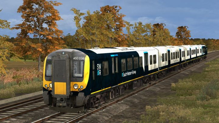 1K98 08:05 Portsmouth Harbour to Bournemouth