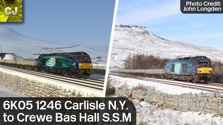 6K05 1246 Carlisle N.Y. to Crewe Bas Hall S.S.M