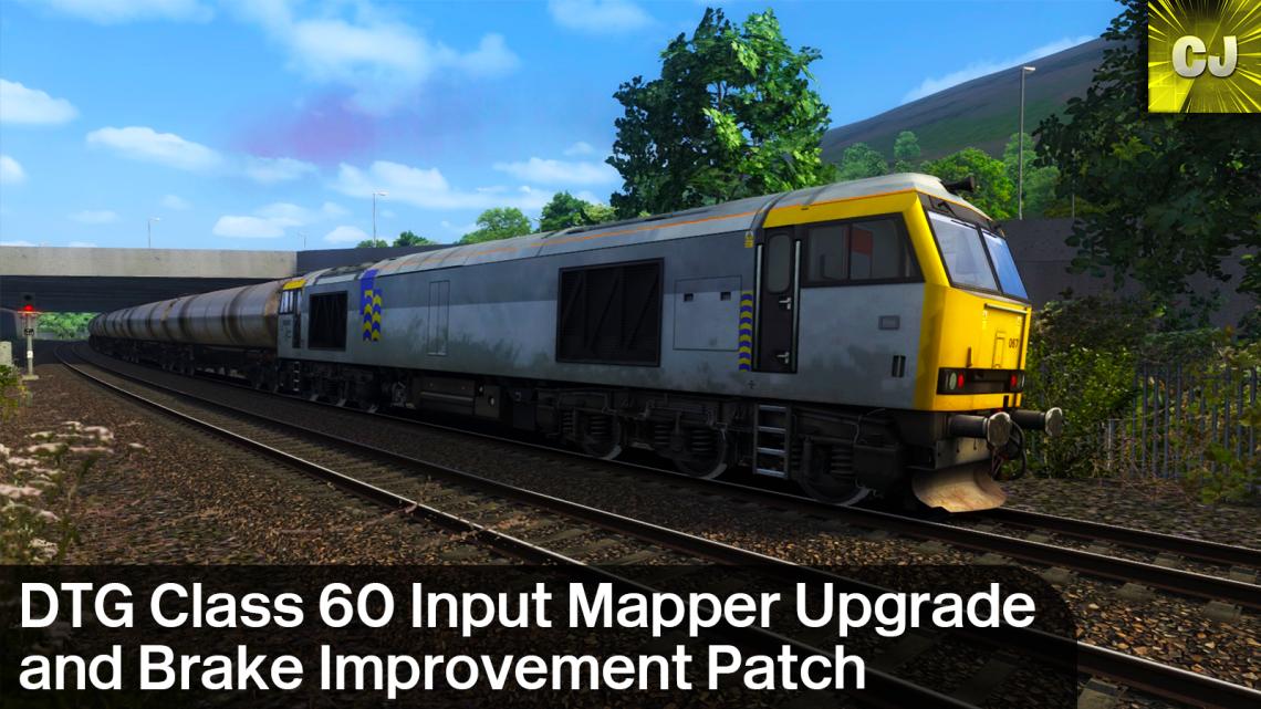 DTG Class 60 Input Mapper Upgrade and Brake Improvement Patch