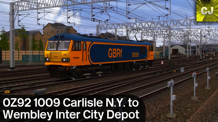 0Z92 1009 Carlisle N.Y. to Wembley Inter City Depot