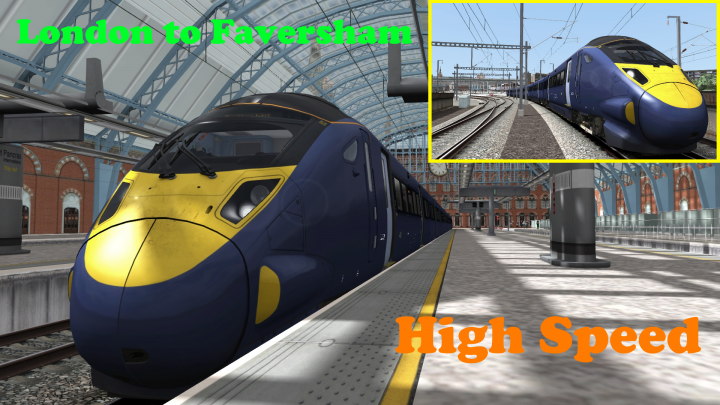 London To Faversham High Speed Image Patch