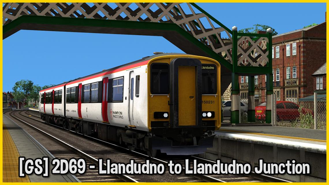 [GS] 2D69 – Llandudno to Llandudno Junction