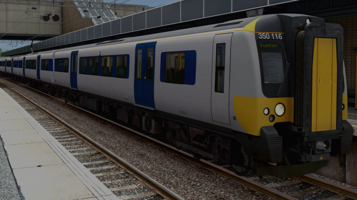Class 350 (AP) – Central Trains/Silverlink (grey/yellow front)