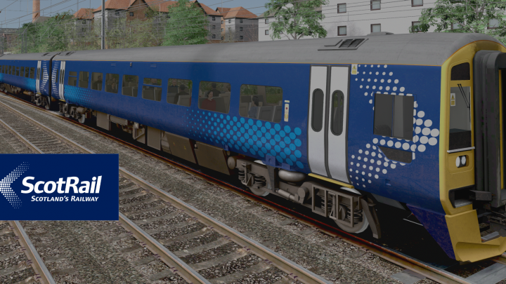 AP Class 158 ScotRail Saltire (Unbranded)