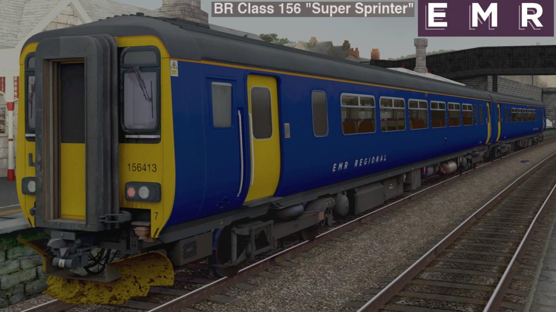 AP Class 156 Ex-East Midlands Trains (East Midlands Railway blue) '156413' & '156414'