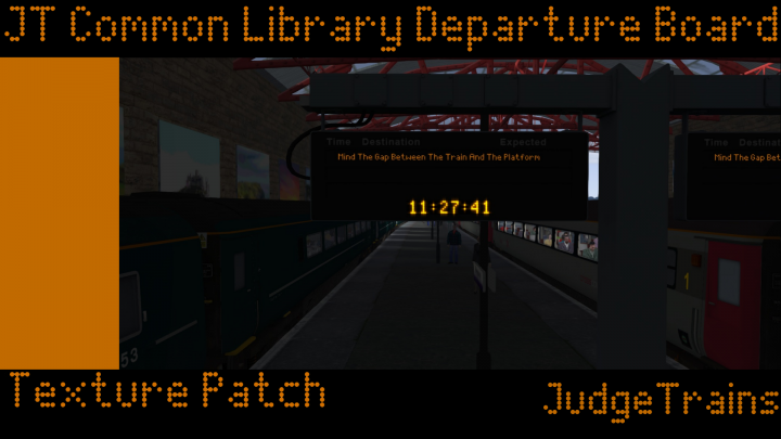 (JT) JustTrains Common Library Departure Board Texture Patch