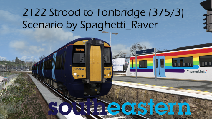 [SR] 2T22 09:35 Strood to Tonbridge (375)