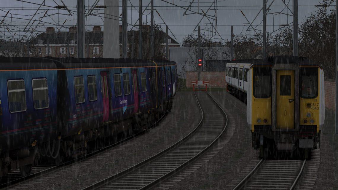 5R33 1230 Letchworth C.S.D to Letchworth & 2R33 1300 Letchworth to London Kings Cross
