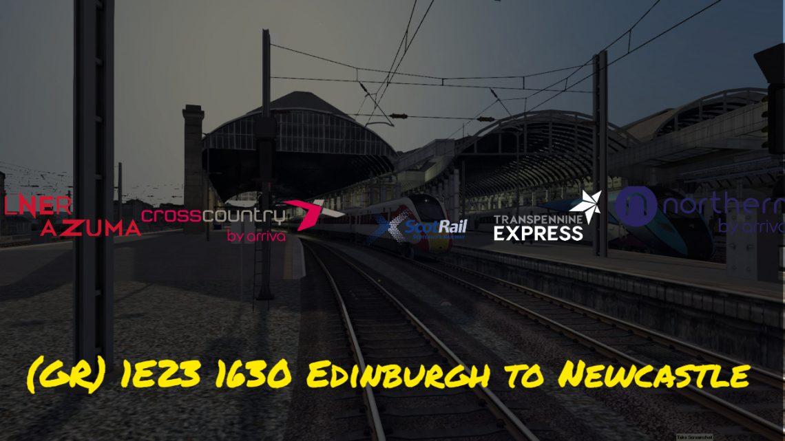 (GR)1E23 1630 Edinburgh to Newcastle / 5E23 1810 Newcastle to Heaton T&R.S.M.D.