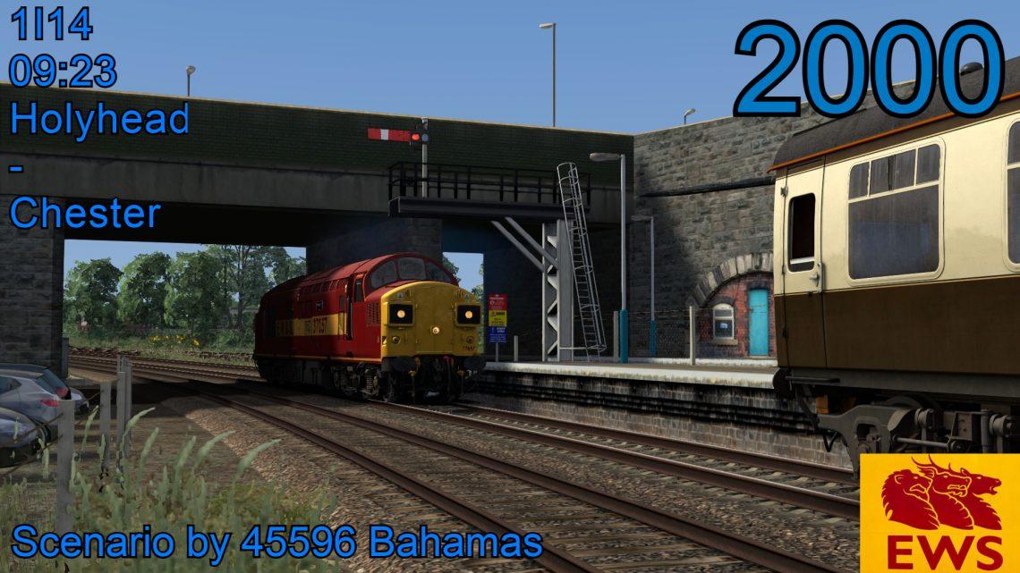 [CH] 1I14 09:23 Holyhead – Birmingham New Street (2000)