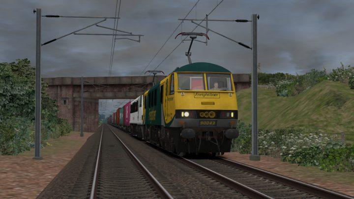 4M83 1033 1033 Coatbridge F.L.T. to Crewe Bas Hall S.S.M.