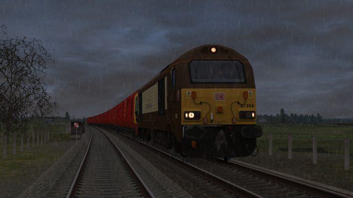 1M44 1620 Shieldmuir Mail Terminal to Warrington Royal Mail(Dbs)