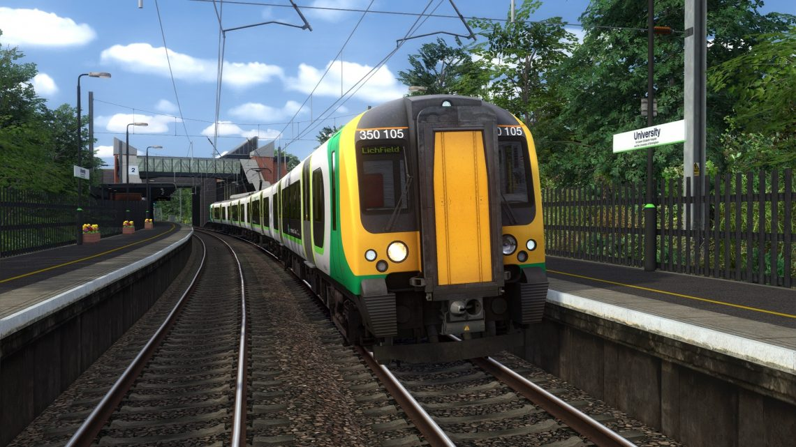 2P14 0752 Bromsgrove to Litchfield Trent Valley