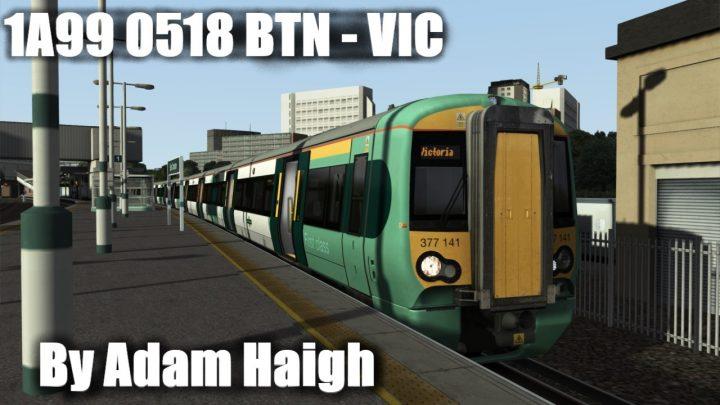 1A99 0518 Brighton to London Victoria