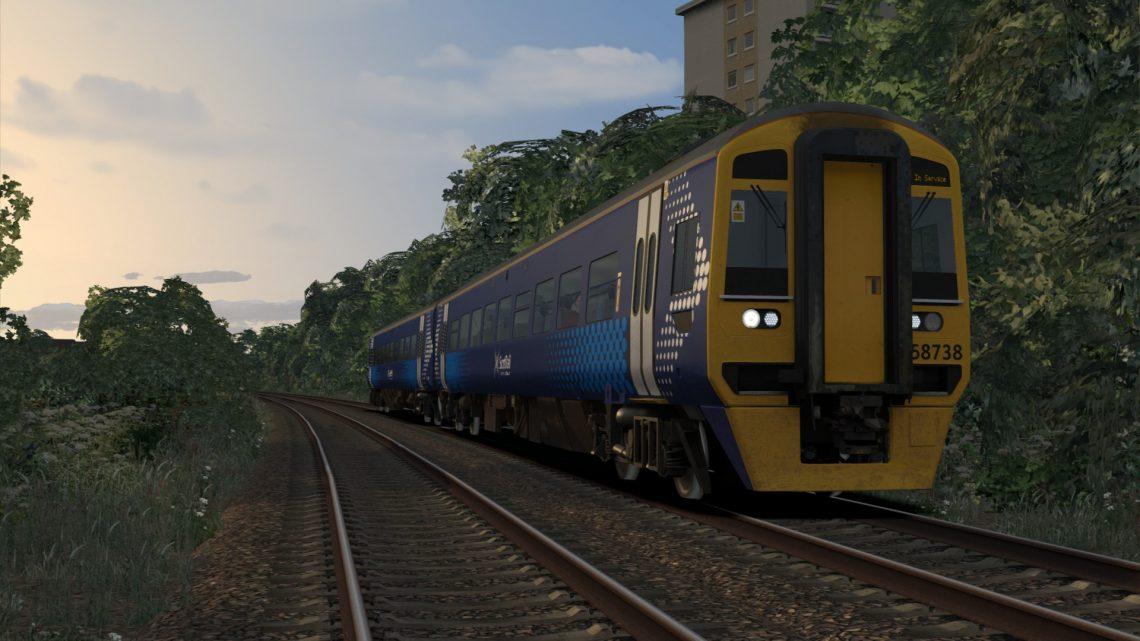5W55 2000 Anniesland to Eastfield Depot