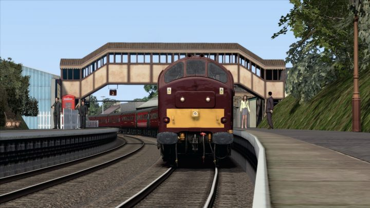 2Z55 & 2Z57 Crewe – Kingswear – Crewe (Fictional)