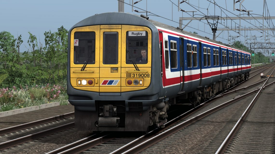 [Train Simulator 2021][TASH][Class 319 NSE]Gatwick to Rugby 1994 WCML South