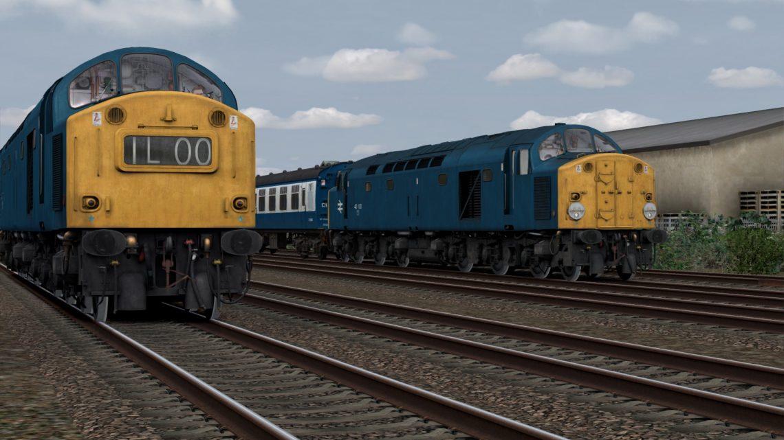 2K99 16:42 (40100) Llandudno – Crewe (1980)