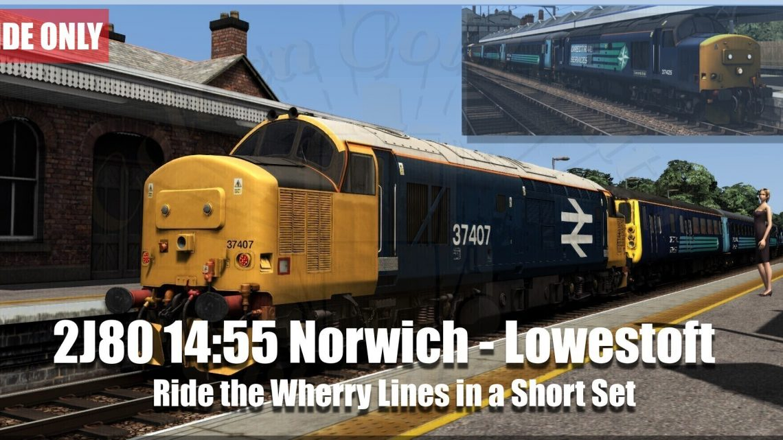 G.G.S. 2J80 14:55 Norwich to Lowestoft (Ride Only)