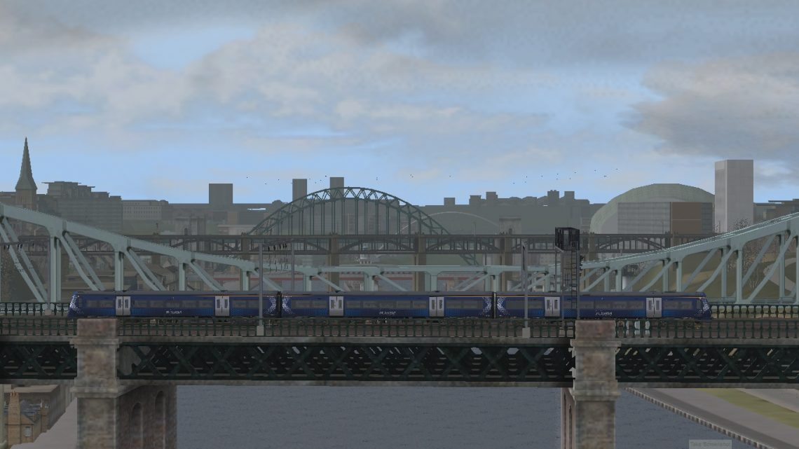 5Q66 1323 Haymarket Depot to Crewe CS (28/03/21) (Newcastle to York)