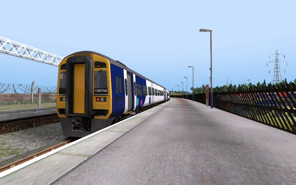 2C87 1249 Lancaster – Heysham Harbour/ 2C86 1320 Heysham Harbour – Lancaster
