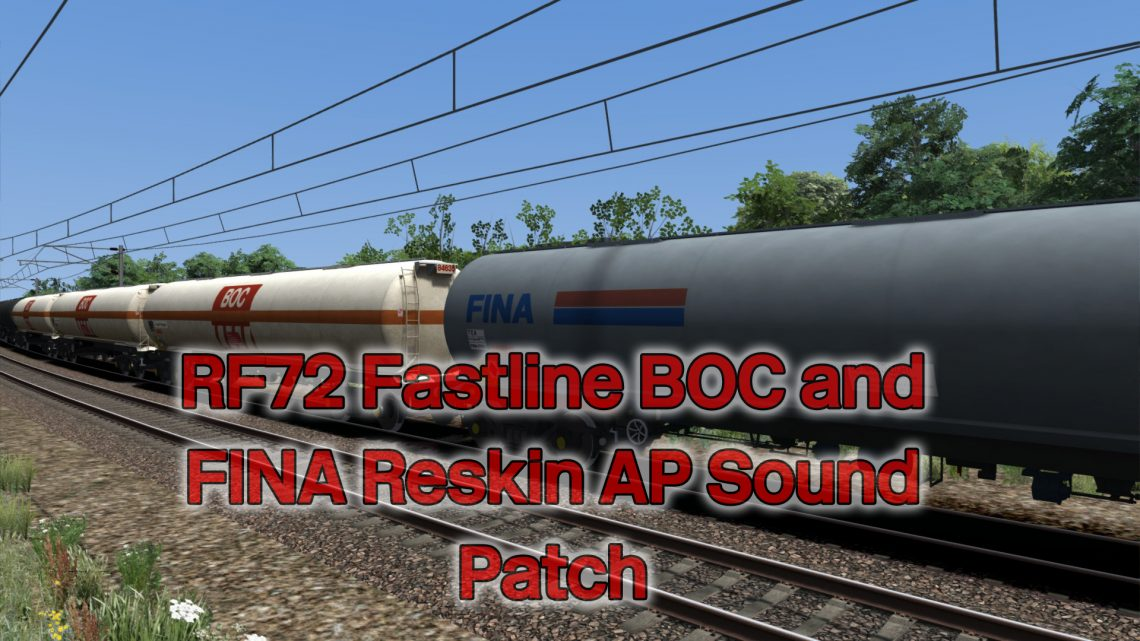 RF72 Fastline TEA BOC and FINA Reskin AP Sound Patch