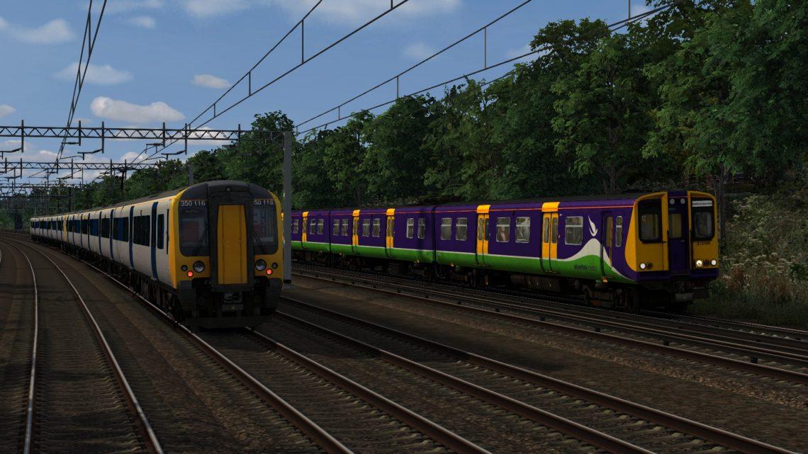 2D95 06.57 London Euston – Watford Junction DC (2007)