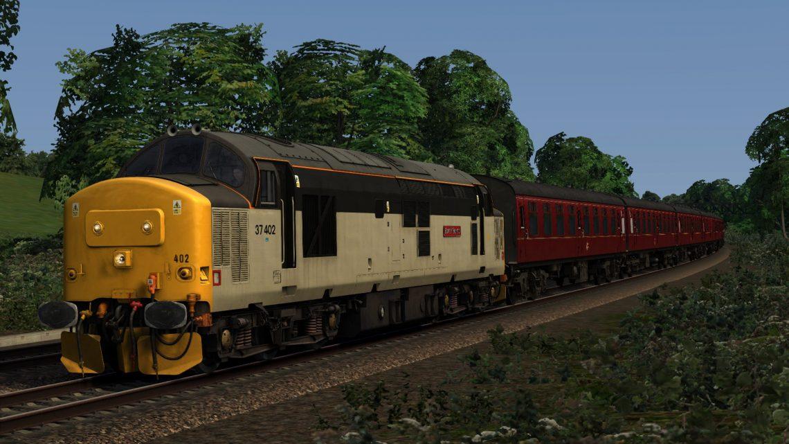 """1Z51 15.55 Kingswear – Bristol Temple Meads """"The Torbay Express"""" (2003)"""