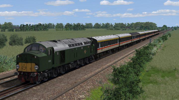 """1G20 12.25 Norwich – York """"Class 40 Farewell"""" (1988)"""