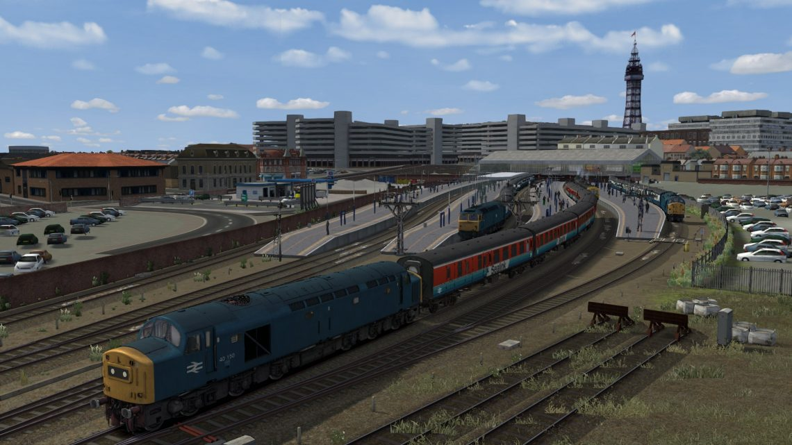 1S91 09.45 Blackpool North – Stranraer (1984)