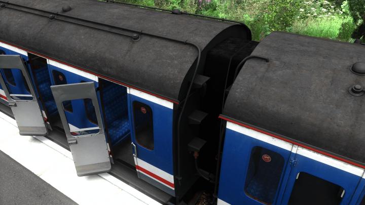 Class 205 unit 205205 gangway patch