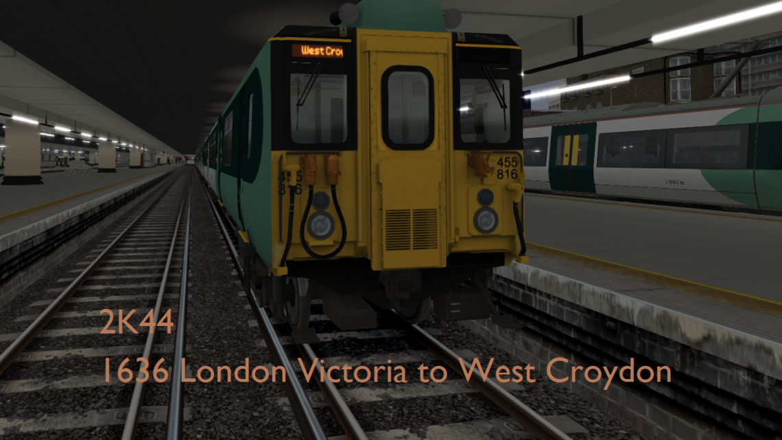 [M.A] 2K44 1636 London Victoria to West Croydon