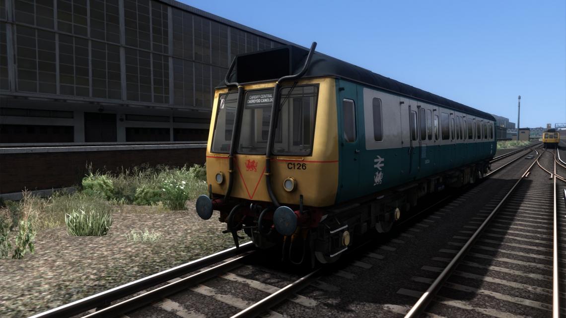 'Valley Lines' Class 121 'Bubblecar'