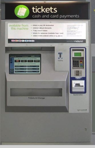 DTG Birmingham Cross City Ticket Machine Reskin.