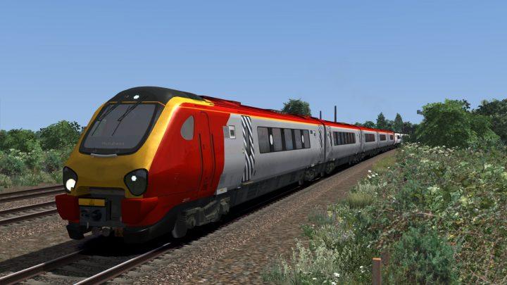 1D83 1049 Crewe to Holyhead